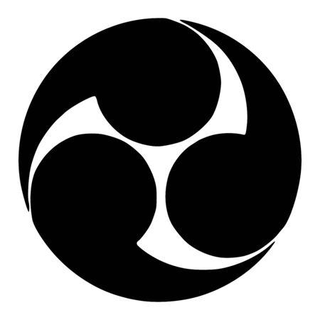 Tomoe symbol icon