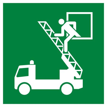 Rescue window symbol