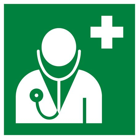 Doctor office symbol