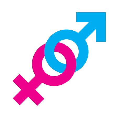 Gender equality symbol Stock Photo - 129828603