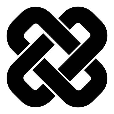 Celtic knot square symbol