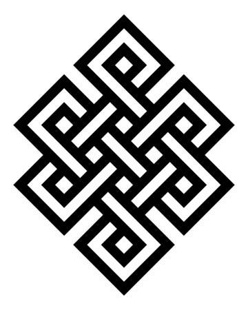 Endless knot symbol