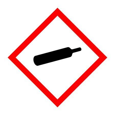 Pictogram for gas bottles