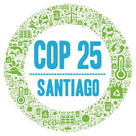 COP 25 in Santiago, Chile Stock Photo