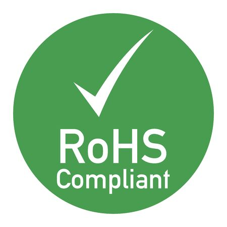 Rohs compliant sign illustration