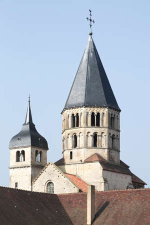 The abbey of Cluny in Burgundy, France