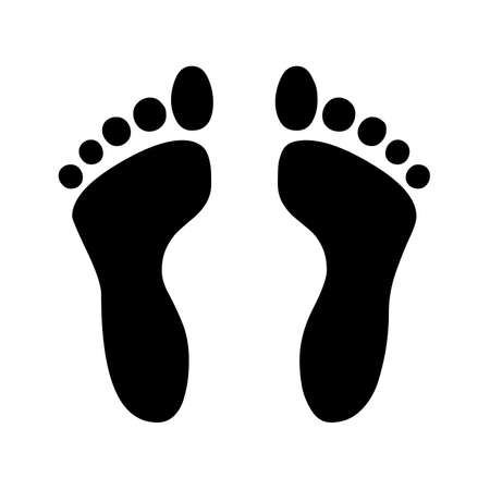 Footprint symbol icon