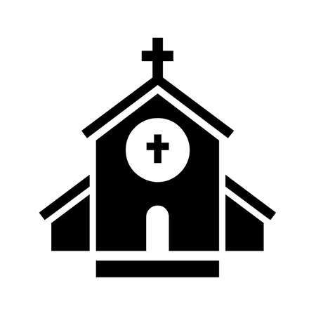 Christian church symbol icon