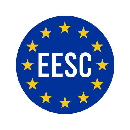 EESC, European Economic and Social Committee sign illustration