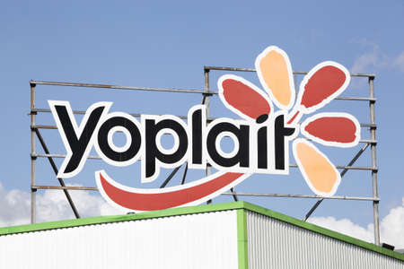 Vienne, France - June 7, 2020: Yoplait is the world's largest franchise brand of yogurt. It is jointly owned by United States–based food conglomerate General Mills and French dairy cooperative Sodiaal