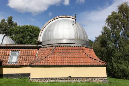 Astronomical Ole Romer observatory of Aarhus in Denmark Standard-Bild