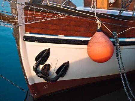 Detail of a sailing ship. Reklamní fotografie