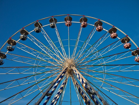 A ferris wheel on a market. Stock Photo - 11710093