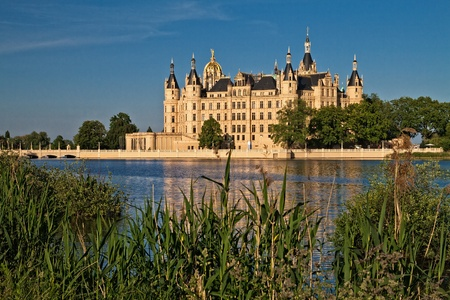 The castle in Schwerin (Germany).