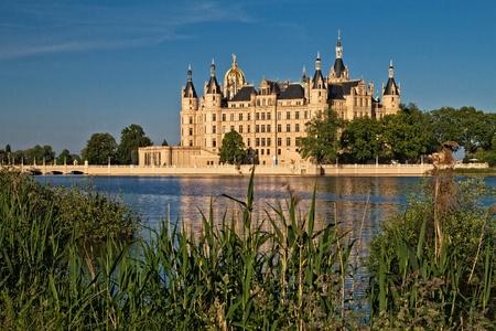The castle in Schwerin (Germany).