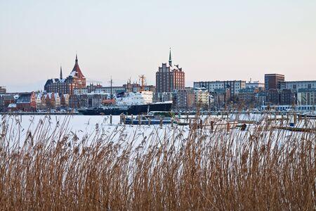rostock: Winter time in Rostock (Germany).