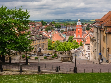 View to Gotha in Germany