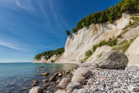Die Ostseeküste auf Rügen Deutschland Standard-Bild - 14766840