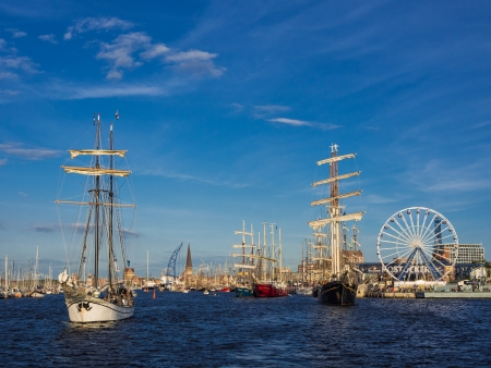 Hanseatic Sail 2012  in Rostock (Germany). Stock Photo - 14817838