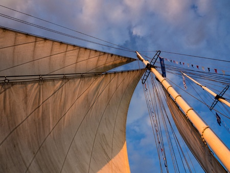 Hanseatic Sail 2012  in Rostock (Germany). Stock Photo