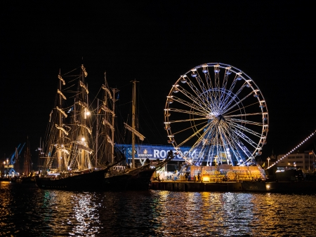 Hanseatic Sail 2012  in Rostock (Germany). Stock Photo - 14817839