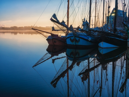 Hanseatic Sail 2012  in Rostock (Germany). Stock Photo
