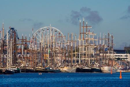 Hanseatic Sail 2012  in Rostock (Germany). Stock Photo - 14817840