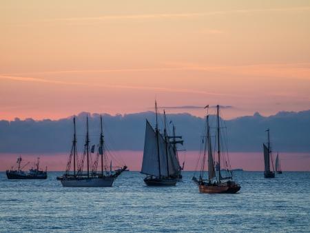 Hanseatic Sail 2012  in Rostock (Germany). photo