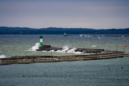 The Lighthouse in Sassnitz  Germany   photo