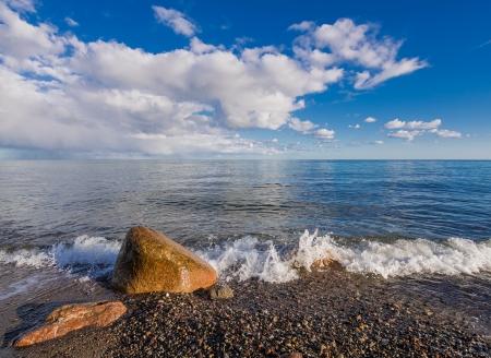 Am Ufer der Ostsee nahe Rostock Deutschland Standard-Bild - 16048476