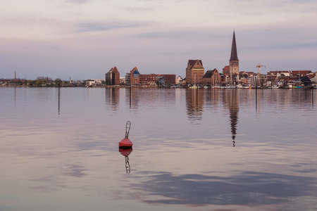 rostock: View to Rostock  Germany