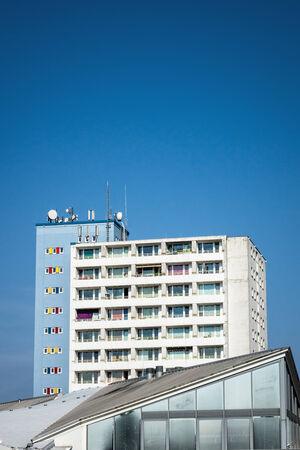 rostock: Dwelling in new housing development in Rostock  Germany   Stock Photo