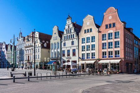 historical buildings: Historical buildings in Rostock (Germany). Editorial
