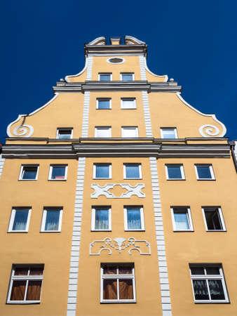 historische: Historische gebouwen in Stralsund Duitsland.