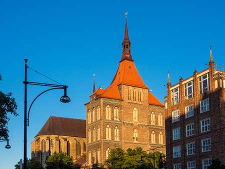 rostock: Church in Rostock (Germany).