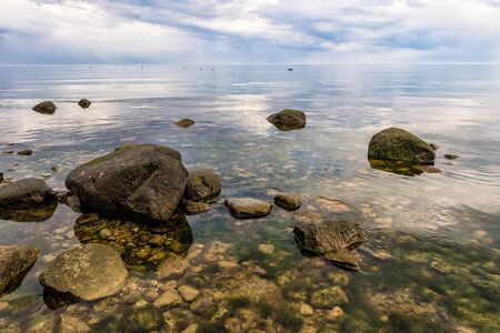 baltic sea: Foundlings on shore of the Baltic Sea.