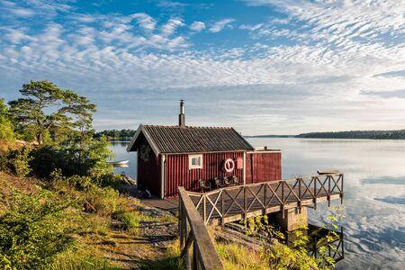 Archipelago on the Baltic Sea coast in Sweden. Reklamní fotografie