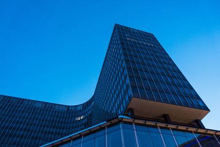 Modern buildings in the city Brussels, Belgium.