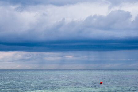 Buoy on shore of the Baltic Sea.