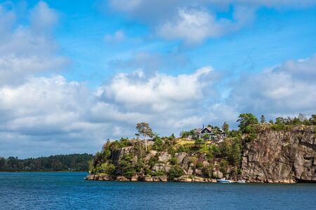 Landscape in the near of Slussen in Sweden.