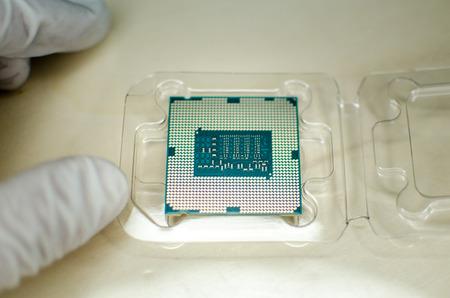 textura: Processore e scheda elettronica da vicino.