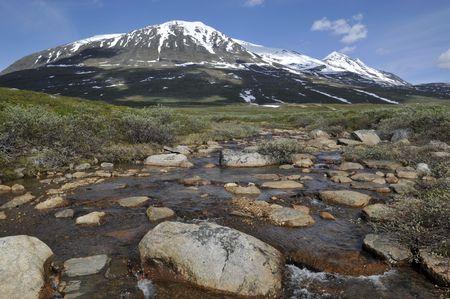 Akk Mountain Sarek National Park, North Sweden