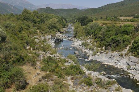 Fango River in Korsika