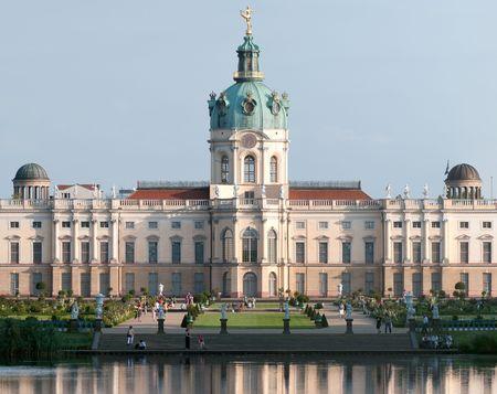 Charlottenburg palace Standard-Bild