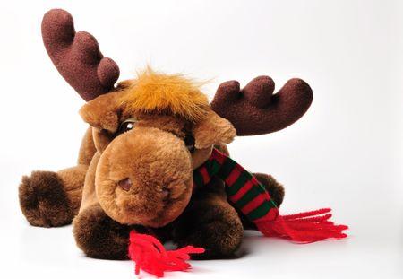 Stuffed animal moose