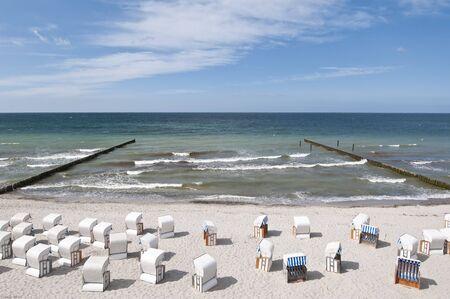 Beach at the Baltic sea Stock Photo