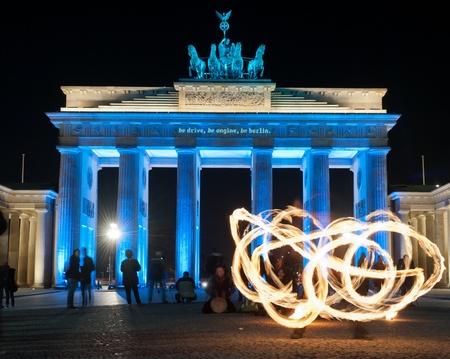 Brandenburger Tor  Festival of Lights Editorial