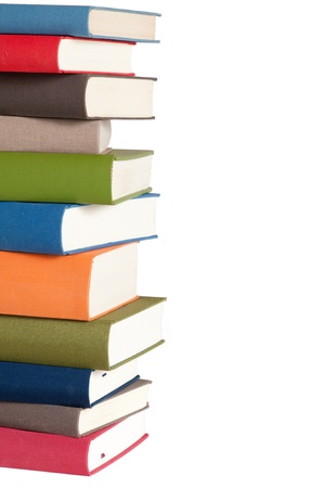 Pile of books Standard-Bild