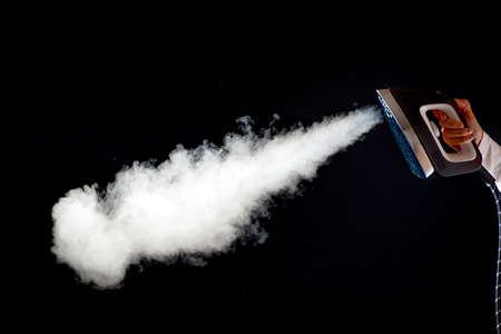 steam jet: Iron with steam jet
