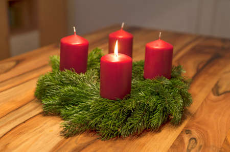 deterministic: advent wreath